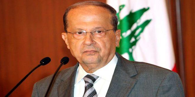 Президент Ливана Быстрое политическое урегулирование кризиса в Сирии положительно отразится на Ливане