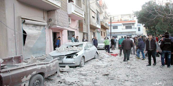 В результате террористических обстрелов города Алеппо и провинции Идлеб погибли 5 человек