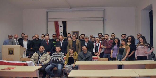 Сирийские студенты в Венгрии вновь подтвердили свою солидарность с Родиной