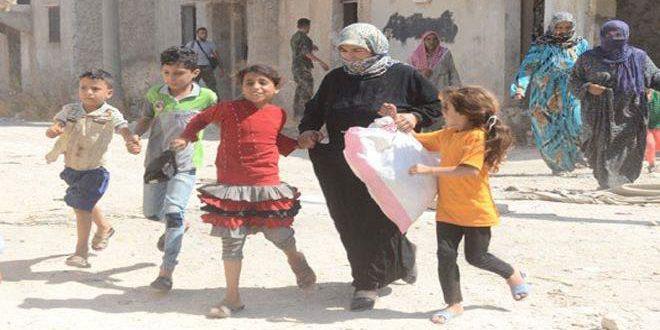 Группа граждан смогла вырваться из блокированных террористами восточных кварталов Алеппо