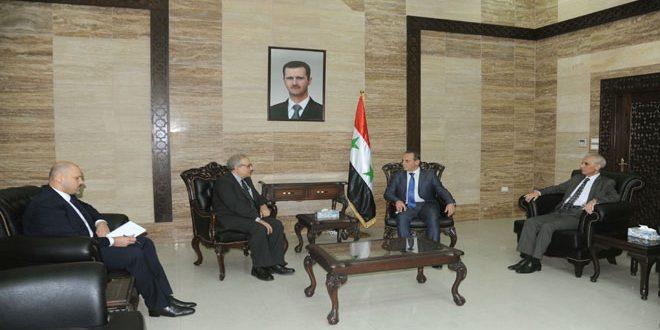 Аль-Языджи: Для преодоления трудностей в здравоохранении необходимо снять экономические санкции против Сирии