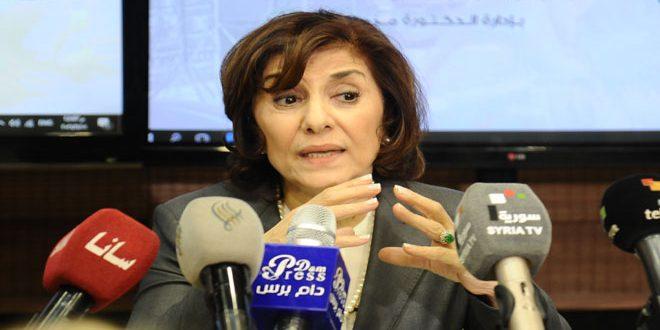 Шаабан: Сирия и Арабский мир в целом сталкиваются с жесточайшей дезинформационной кампанией