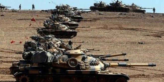 Турецкий режим направил танки и бронетехнику к иракской границе