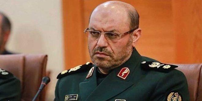Глава минобороны ИРИ: Иран поддерживает сотрудничество с друзьями Сирии