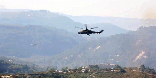 Сводка контртеррористических операций Сирийской армии за 5 ноября