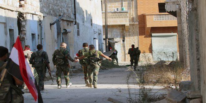 Сводка контртеррористических операций Сирийской армии за 12 ноября