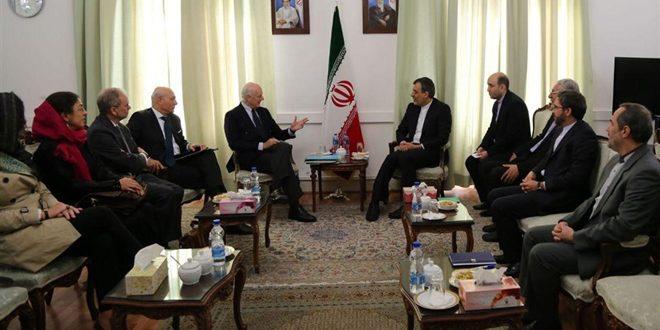 Замглавы МИД Ирана и спецпосланник ООН по Сирии обсудили пути политического урегулирования сирийского кризиса
