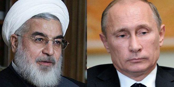 Путин и Роухани условились продолжить работу по урегулированию в Сирии