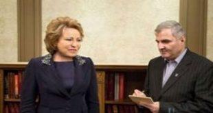 Матвиенко: Москва уделяет особое внимание взаимодействию с Тегераном в вопросе урегулирования кризиса в Сирии