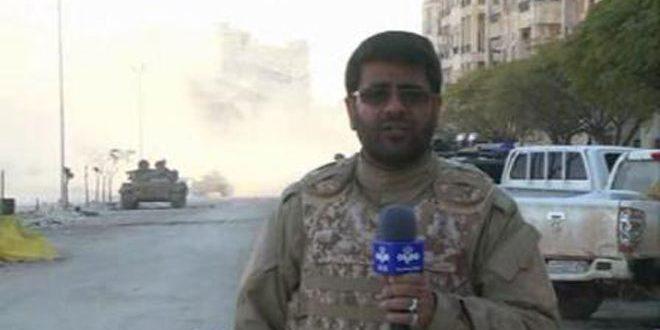 На западе Алеппо на боевом посту погиб корреспондент официального иранского телевидения