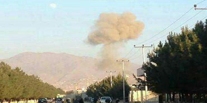 В Кабуле вблизи парламентского комплекса прогремели два взрыва, 21 человек погиб и десятки пострадали