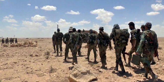 Сводка контртеррористических операций Сирийской армии за 11 января