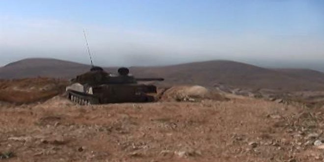Сводка контртеррористических операций Сирийской армии за 8 января