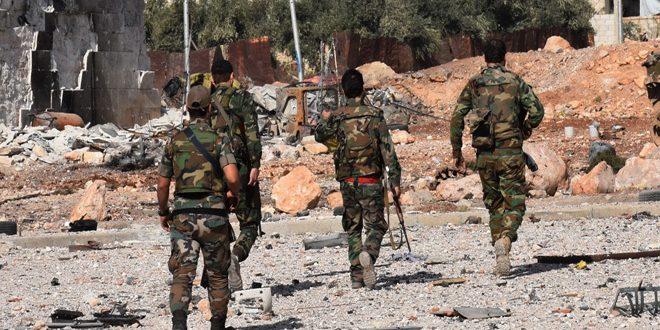 Сводка спецопераций Сирийской армии за 12 января