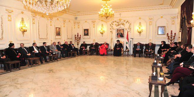 В Дамаске в Римско-католическом кафедральном соборе состоялось чествование посла Ватикана в Сирии Марио Дзенари