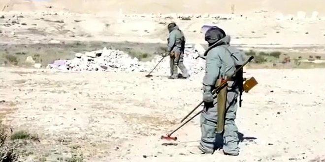 Инженерные войска РФ в Алеппо разминировали свыше 2 тысяч гектаров территории
