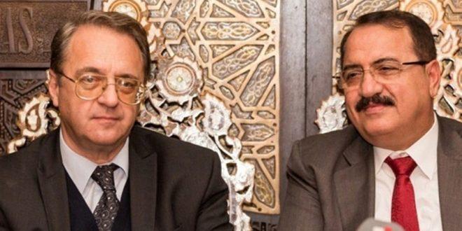 Богданов и Хаддад обсудили пути урегулирования кризиса в Сирии