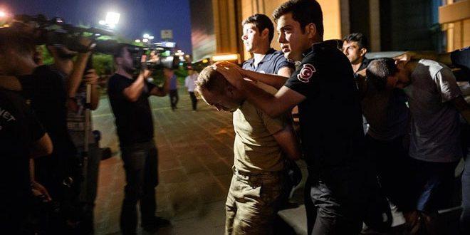Прокуратура в Турции санкционировала задержание 243 военных