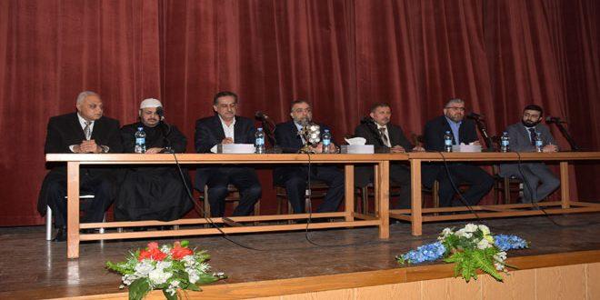 Министр вакфов: По распоряжению президента Аль-Асада будут восстановлены мечеть Омейядов и остальные мечети и церкви в Алеппо