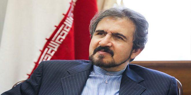 Касеми: Тегеран поддерживает проведение межсирийских переговоров в Астане