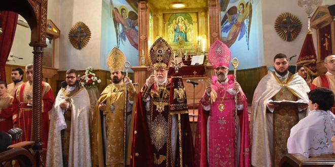 В Дамаске и Алеппо по случаю Рождества Христова прошли праздничные богослужения