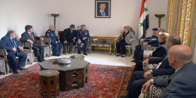 Аббас: История не забудет, что Сирия и Россия вместе защищали народы региона
