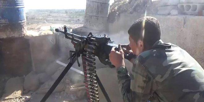 Сводка контртеррористических операций Сирийской армии за 14 января