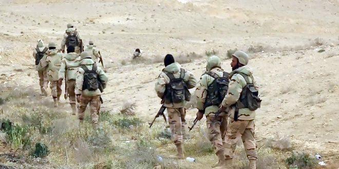 Сводка антитеррористических операций Сирийской армии за 7 января