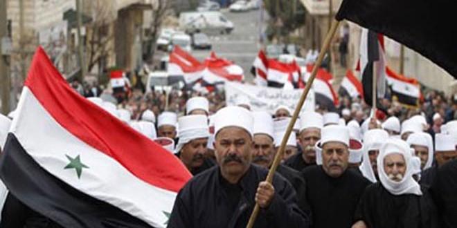 Жители оккупированных Израилем сирийских Голан вновь подтвердили свою приверженность Родине