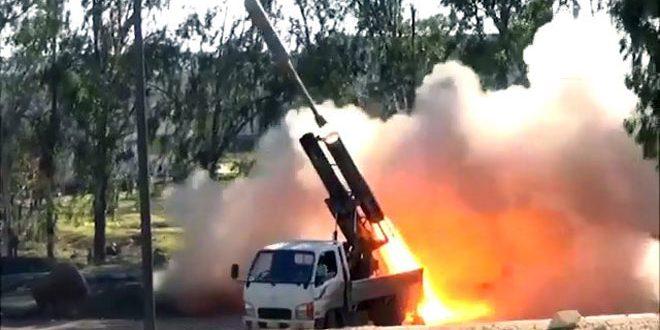 Сводка контртеррористических операций Сирийской армии за 15 февраля