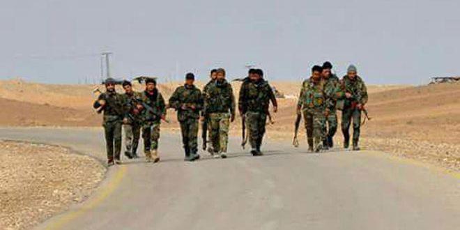 Сводка контртеррористических операций Сирийской армии за 17 февраля