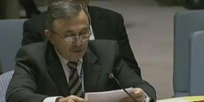Мунзер: ООН должна возложить ответственность за преступления против Сириина страны, поддерживающие терроризм
