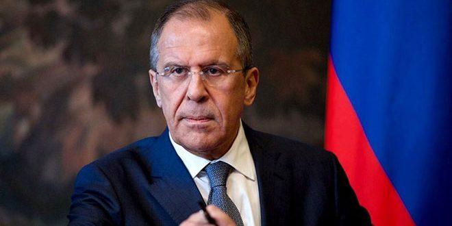 Лавров: Россия поддерживает усилия по прекращению боевых действий в Сирии