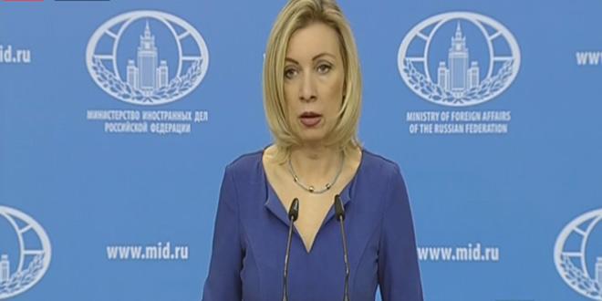 Захарова: Переговоры в Астане 15-16 февраля придадут импульс сирийскому урегулированию