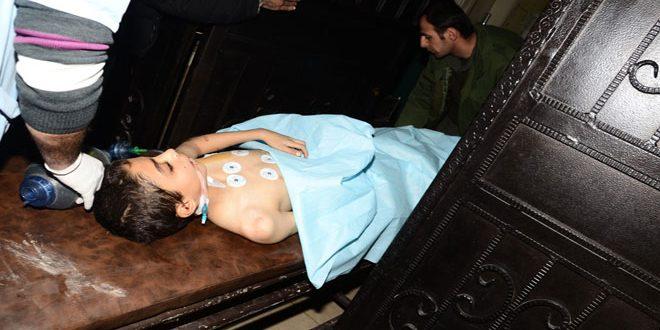 3 человека погибли, еще 6 получили ранения из-за обстрела террористами района Аль-Хамдания в городе Алеппо