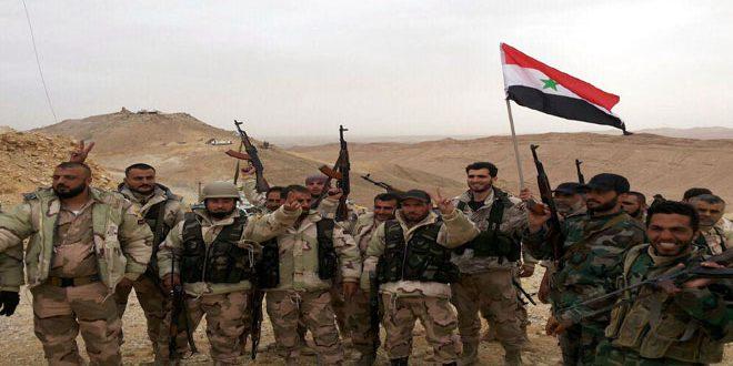 Сводка контртеррористических операций Сирийской армии за 14 февраля