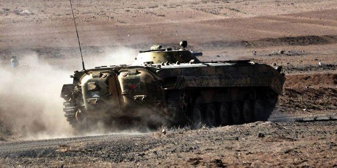 Сводка контртеррористических операций Сирийской армии за 16 февраля