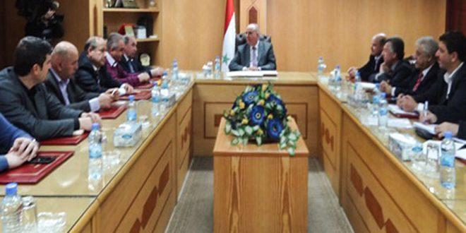 Министр внутренней торговли САР и гендиректор ЗАО «Совокрим» обсудили экономическое сотрудничество Сирии и России