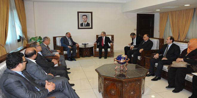 Аль-Мекдад: Сирия подвергаются такому же терроризму, что и Тунис