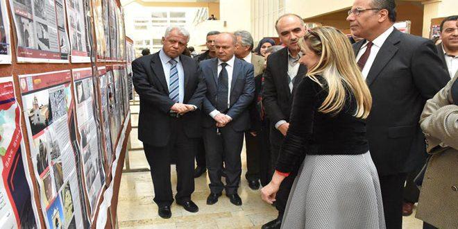 На факультете архитектуры Дамасского университета открылась выставка исторических зданий, пострадавших от терроризма в Сирии