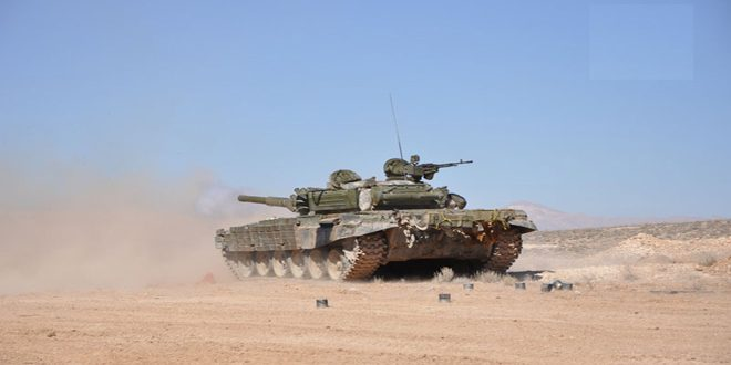 Сводка контртеррористических операций Сирийской армии за 19 марта