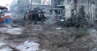 Военный источник: Сирийская армия окружила и уничтожила бандформирования «Джебхат Ан-Нусры» севернее Джобара