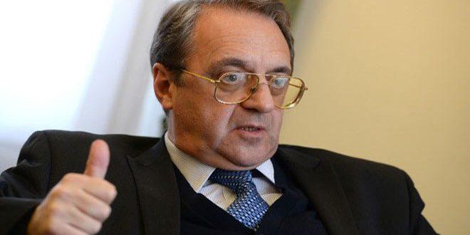 Богданов: Перемирие в Сирии продолжает действовать, несмотря на попытки его сорвать