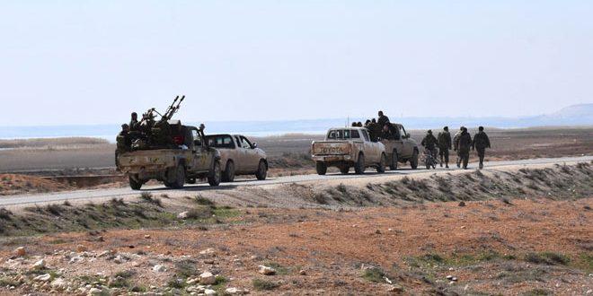 Сводка контртеррористических операций Сирийской армии за 18 марта