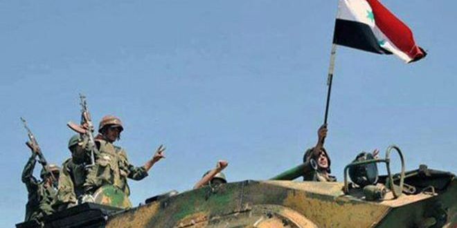 Сводка контртеррористических операций Сирийской армии за 20 апреля