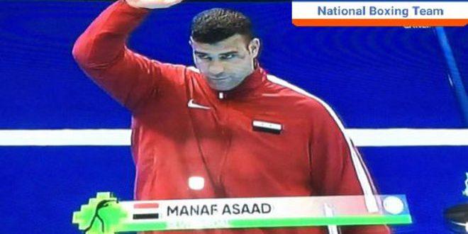 На IV Исламских играх солидарности сирийский боксер Манаф Асаад завоевал серебряную медаль