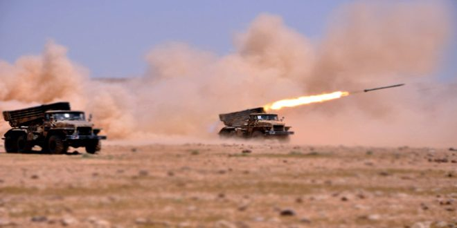 Сводка контртеррористических операций Сирийской армии за 18 июня