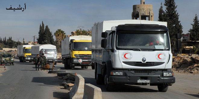 Сирийское общество Красного Полумесяца осудило нападение на гумконвой в районе Хараста
