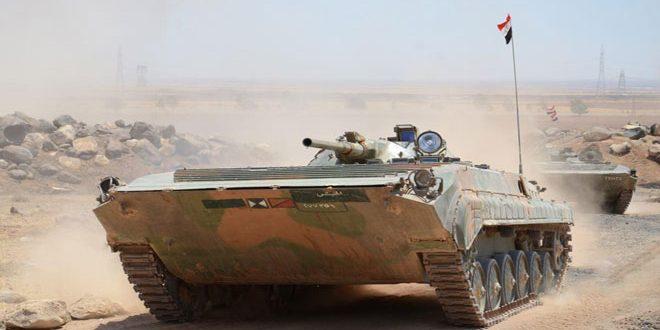 Сводка спецопераций Сирийской армии за 27 июня
