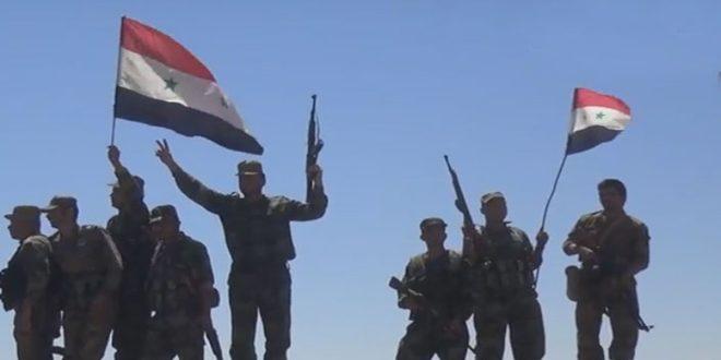 Сирийская армия при освобождении Ас-Сухна достигла значительных успехов по искоренению террористов ДАИШ